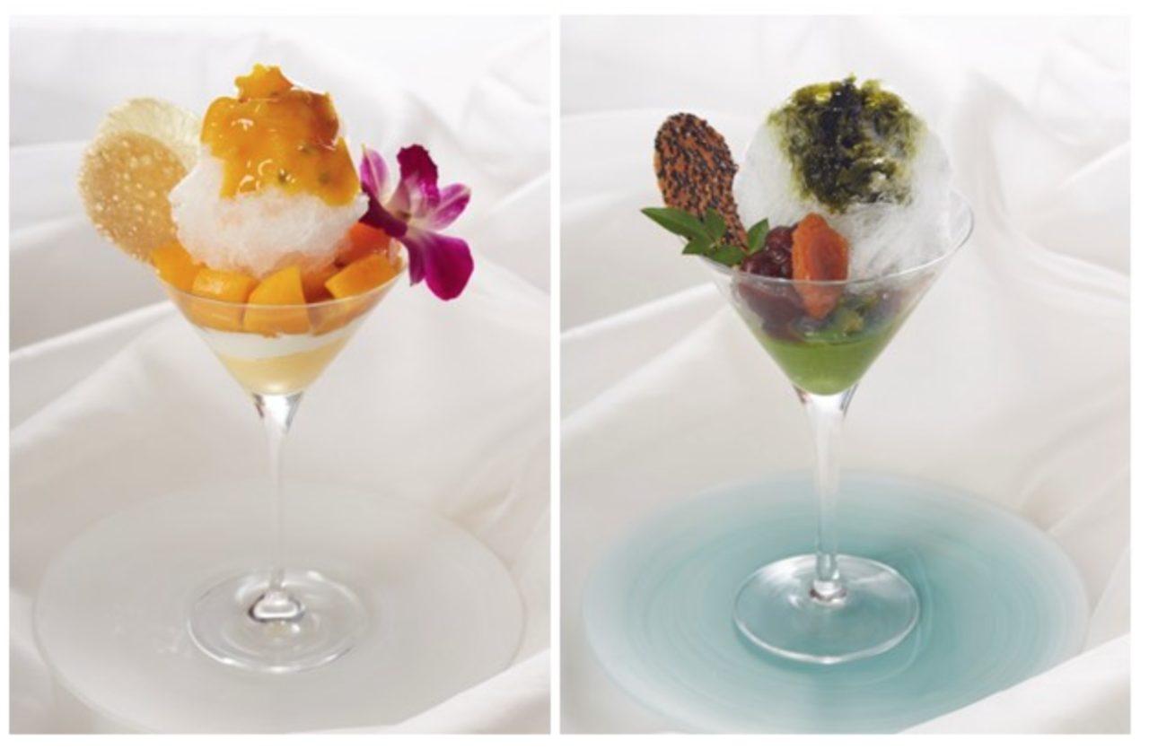 画像: ホテル日航東京「~生野シェフ特製~平日限定かき氷」