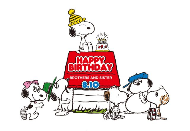 画像: Happy Birthday, SNOOPY!!