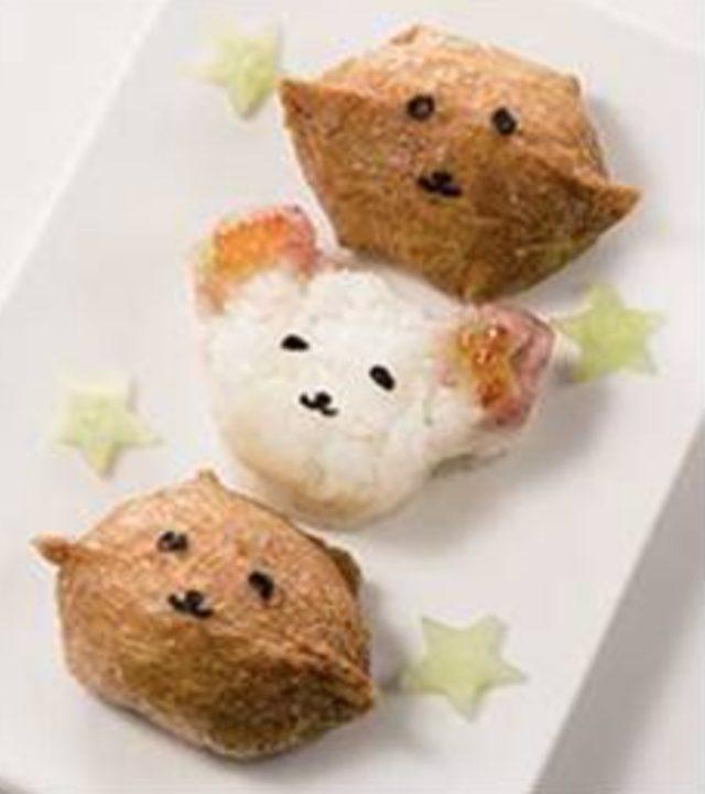 画像: いなり寿司をかわいい妖怪に。 <北辰鮨>妖怪いなリン(1パック3個入)498円 /地下1階