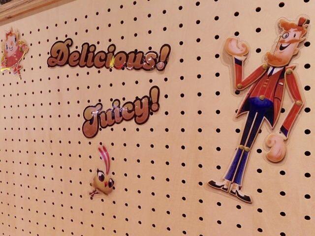 画像2: キャンディークラッシュソーダワールドを堪能できる、こだわりの店内