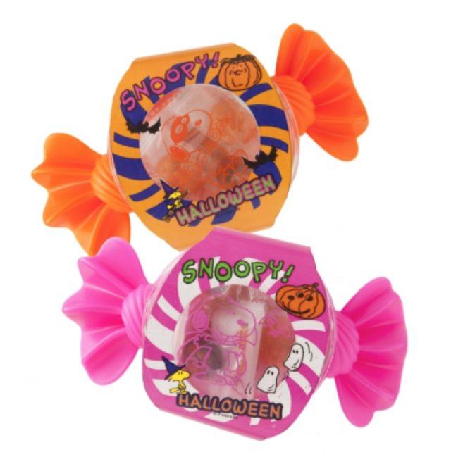 画像: クッキー、キャンディ、チョコレートが入ったかわいらしいキャンディケース。 ハロウィン キャンディシェイプケース 全2種 各550円(税抜)