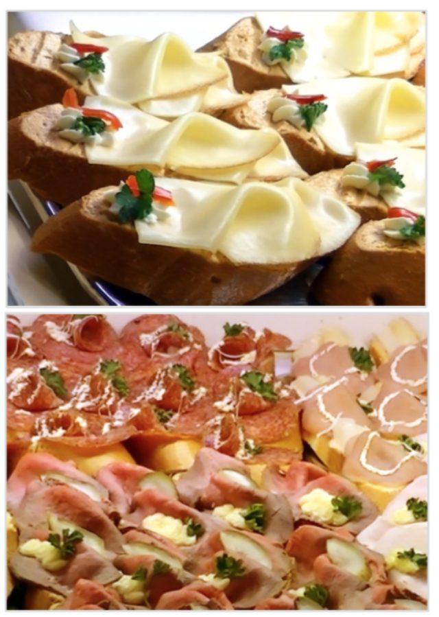 画像: 《日本店限定 オープンサンド》 「日本では、本店とは違うスタイルにチャレンジしてみたい」そんなロベルト・エーデッガー氏の強い希望により、日本出店では伝統的なパンに加え、オープンサンドを販売いたします。スライスしたパンの上に、ハムやスモークサーモン、ホワイトアスパや野菜のディップなどをのせたオープンサンドは、オーストリアの密かなトレンド。ウィーンやグラーツなどの都市では、ビールやワインといっしょにアペリティフ感覚で食べるスタイルが流行しています。 今回の日本出店では、王家御用達のパンを使ったちょっぴりゴージャ スなオープンサンドが登場。軽いランチに、仕事帰りの1杯に。あるいは、 パーティの手土産やおもたせにも。手のひらサイズのちいさなオースト リアをご提供いたします。