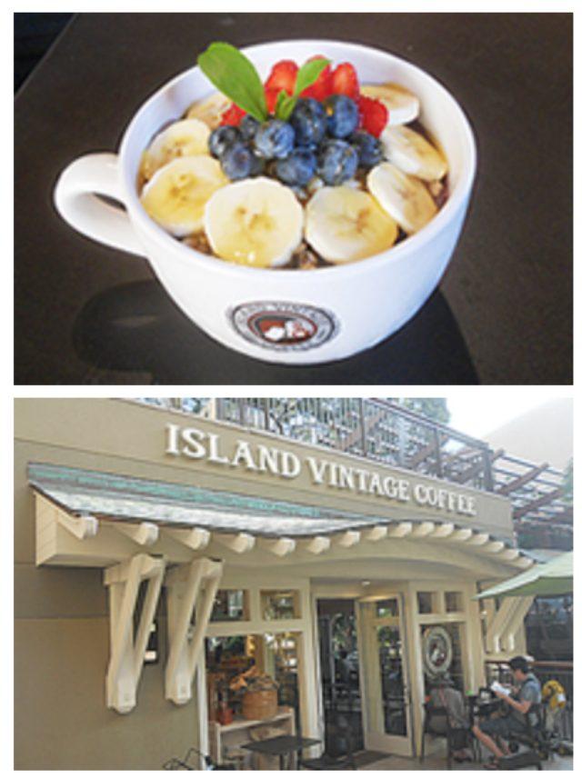 画像: ■同率5位 アイランドビンテージコーヒーの「アサイーボウル」 ロイヤル・ハワイアン・センター2階にあるコナコーヒー専門店。冷たいアサイベリーのスムージーとグラノーラが絶妙です。新鮮なフルーツもたっぷり入っているのでヘルシー♪「いろんなところのアサイーボウルを食べましたが、ここがBestです。また行きます。」のようにファンを魅了する味に票が集まりました。 住所:2301 Kalakaua Ave, ロイヤル・ハワイアン・センターC館2階, Honolulu, HI 96815