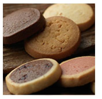 画像: ◎セピアの香り アイスボックス製法でつくられるクッキーには、香り豊かな北海道産バターがたっぷりと含まれています。卵と小麦も北海道産にこだわった、クッキーシリーズ。 (バター、苺、抹茶、チョコチップ、紅茶、ショコラ、セサミ、パンプキン、マカダミア、スイートコーン)