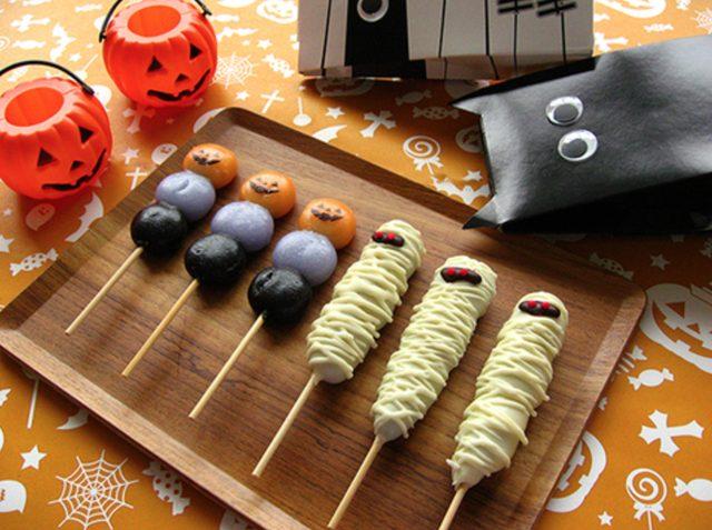 画像: チョコマント ハロウィン www.yagumodango.com