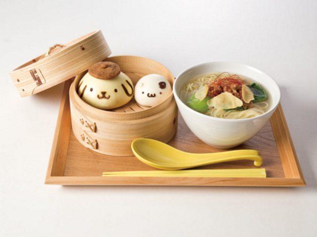 画像: ほっこり!中華まんの飲茶セット 1,290円(横浜限定)