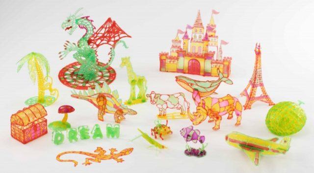 画像: 世界遺産や恐竜が作れるデラックスな「クリエイティブセット」(8本ペン)や、ドラゴンやお城などファンタジーな世界を作り出せる「イマジネーションセット」(4本ペン)、他にも2本セットや1本セットなど、全ての商品に「デザインシート」(※)がセットになって、全部で7種類の商品展開となります。