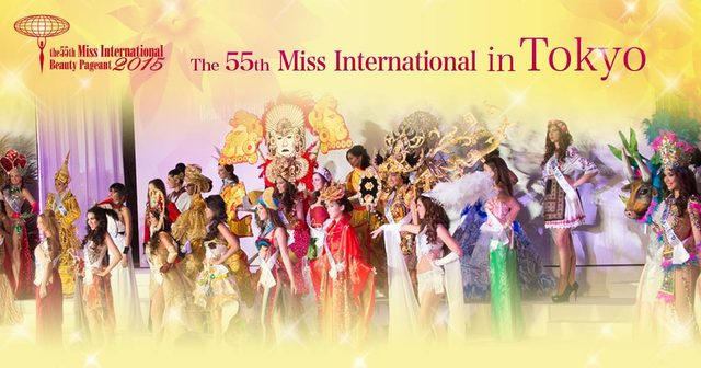 画像: Miss International Beauty Pageant 2015