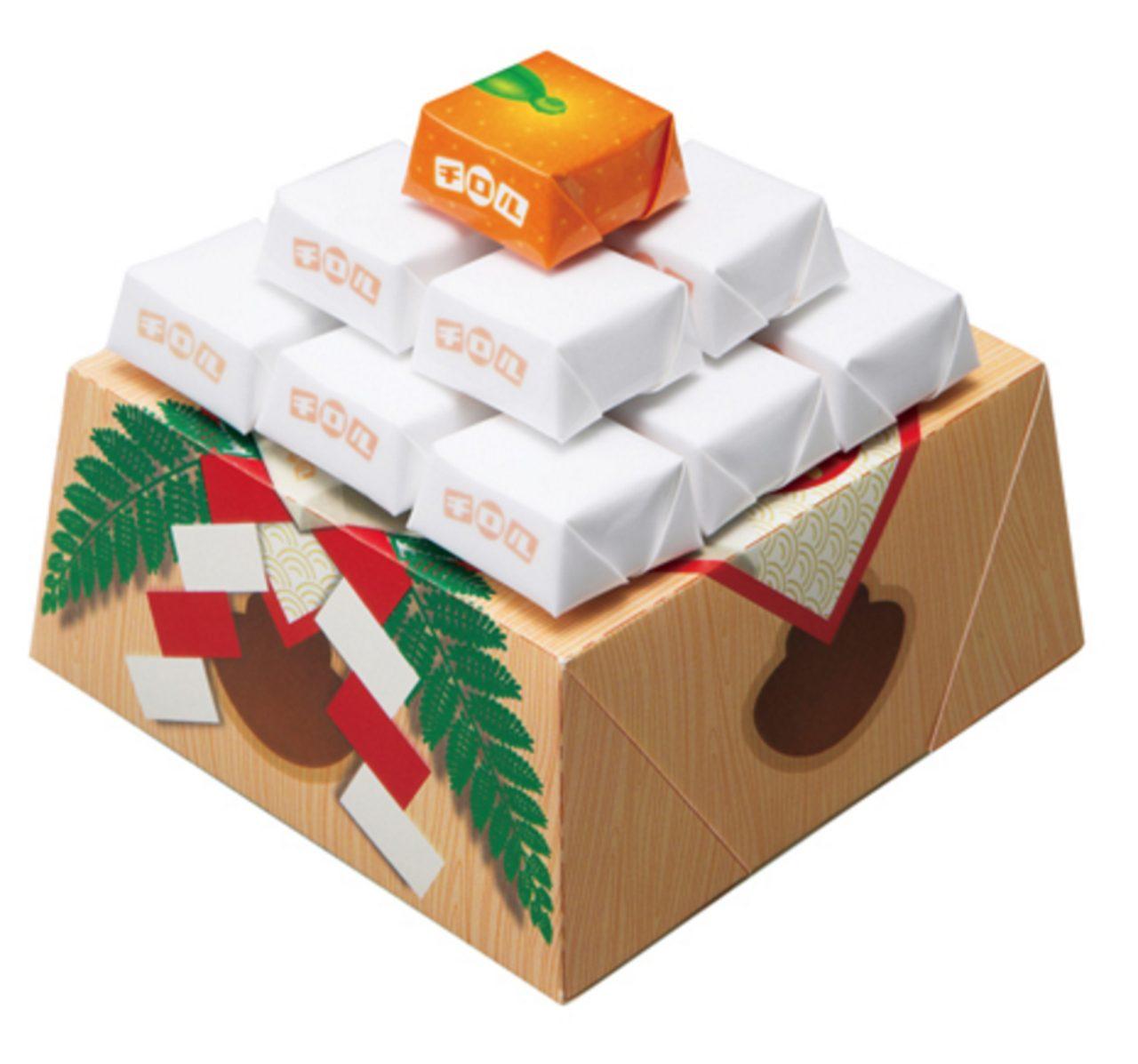 画像: 次のお正月はチョコを飾って鏡餅に!「チロルの鏡餅」