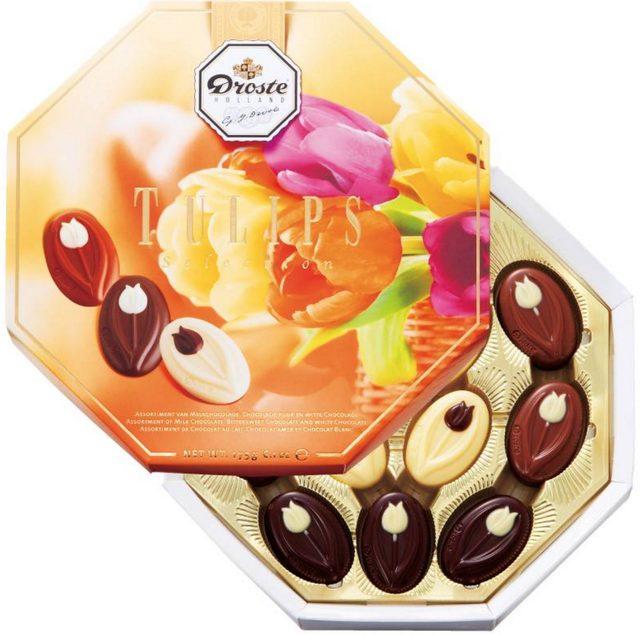 画像: ■オランダ:ドロステ チューリップチョコレート 1863年創業の〈ドロステ社〉は、オランダが誇るチョコレートメーカー。 パッケージに刻印された王冠はオランダ王室より授かったロイヤルの称号の証しだそうです。