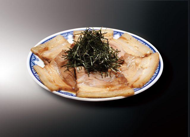 画像: 釜だれとんこつ焼き豚皿 490円