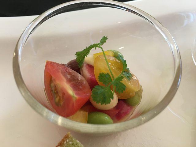 画像: 彩り野菜のサラダ スーパーフルーツビネグレット