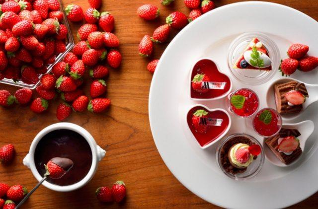 画像: 旬の苺やチョコレートで彩るバレンタインをはじめ、 大切な人との特別な時間を多彩に演出