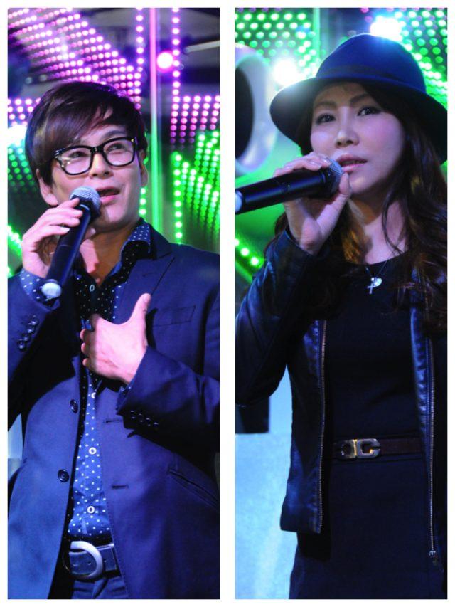 画像: 左が合田和人さん、右が美容家サラさん