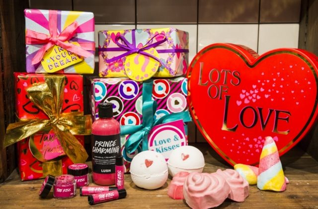 画像: LUSH(ラッシュ)のバレンタインギフト