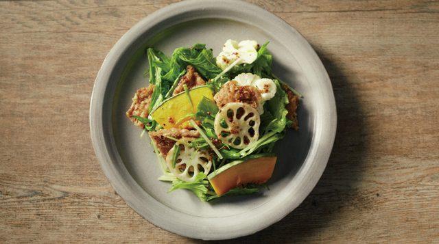 画像: 【ベジフィレ調理イメージ】根菜のハニーマスタードサラダ