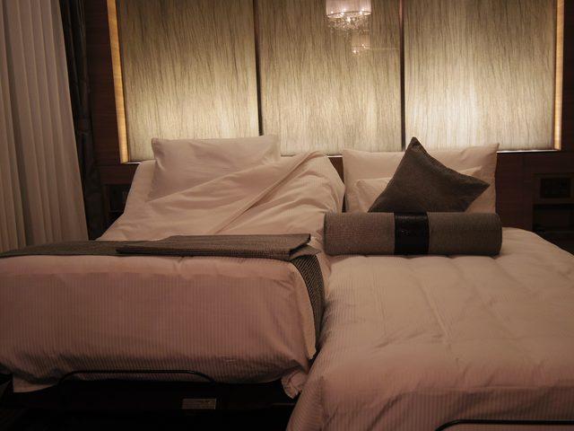 画像: 無重力のような快適な睡眠を体感できます。