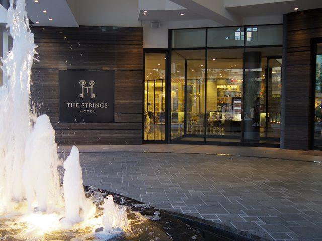 画像: ホテル入口