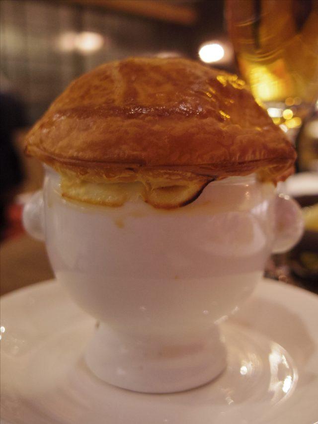 画像: ファーストディッシュのスープ