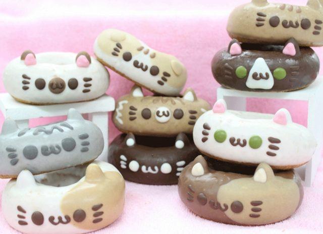 画像6: 2月22日(にゃーにゃーにゃー)「ねこの日」を記念して 新作を含む10種類の猫ドーナツを販売!