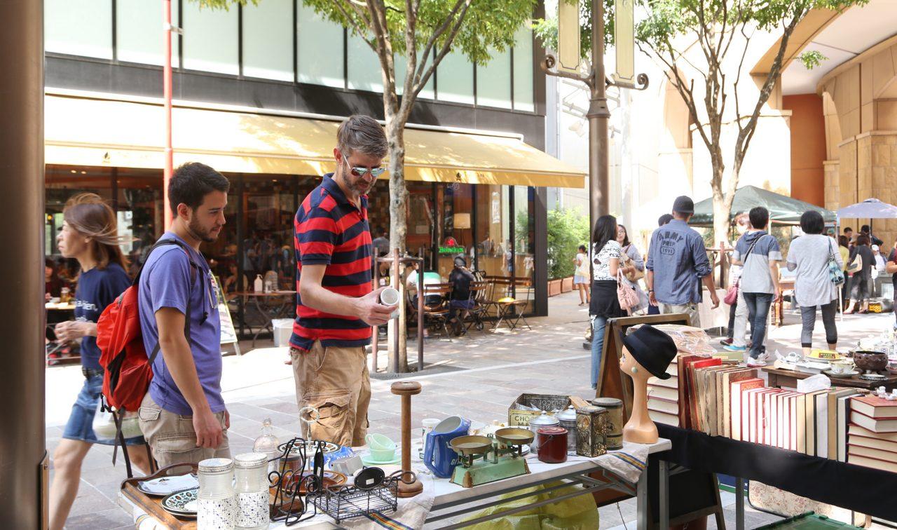 画像2: 前回 2015年9月「第1回川崎 蚤の市」開催写真