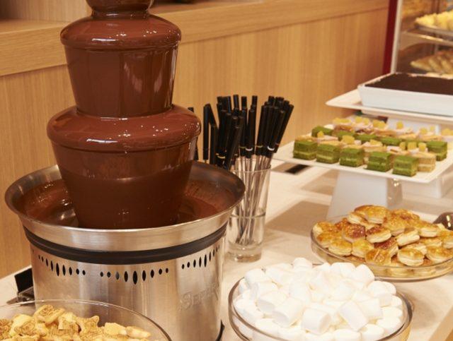 画像: (デザート)チョコレートフォンデュやチョコドリンク