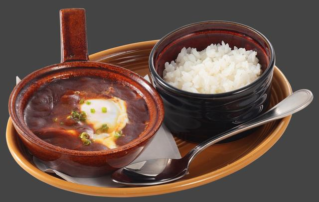 画像: 寿司屋のぐつぐつカレー (580円) 寿司屋の裏定番メニュー!シャリの甘味と酸味がスパイシーなカレーに良く合います。七味をたっぷりかけるのがシェフのおすすめです。