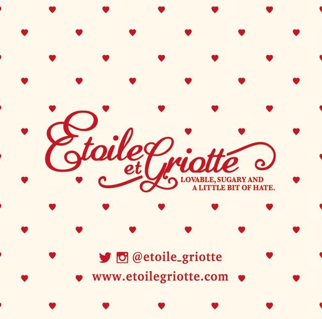 """画像: Etoile et Griotte """"Lovable, Sugary and a little bit of Hate.""""をコンセプトにガーリーでロマンティックなグラフィックを活かしたアパレルや雑貨を展開するブランド。"""