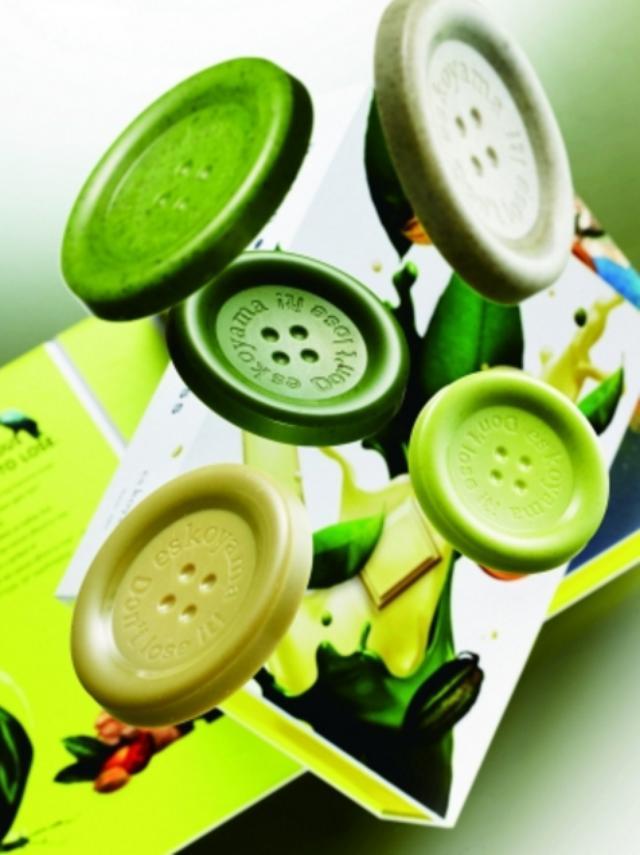 画像: 世界で認められた小山シェフのブランド 「パティシエ エス コヤマ」幸せのボタン~Don't lose it!~(15枚入り)1,728円