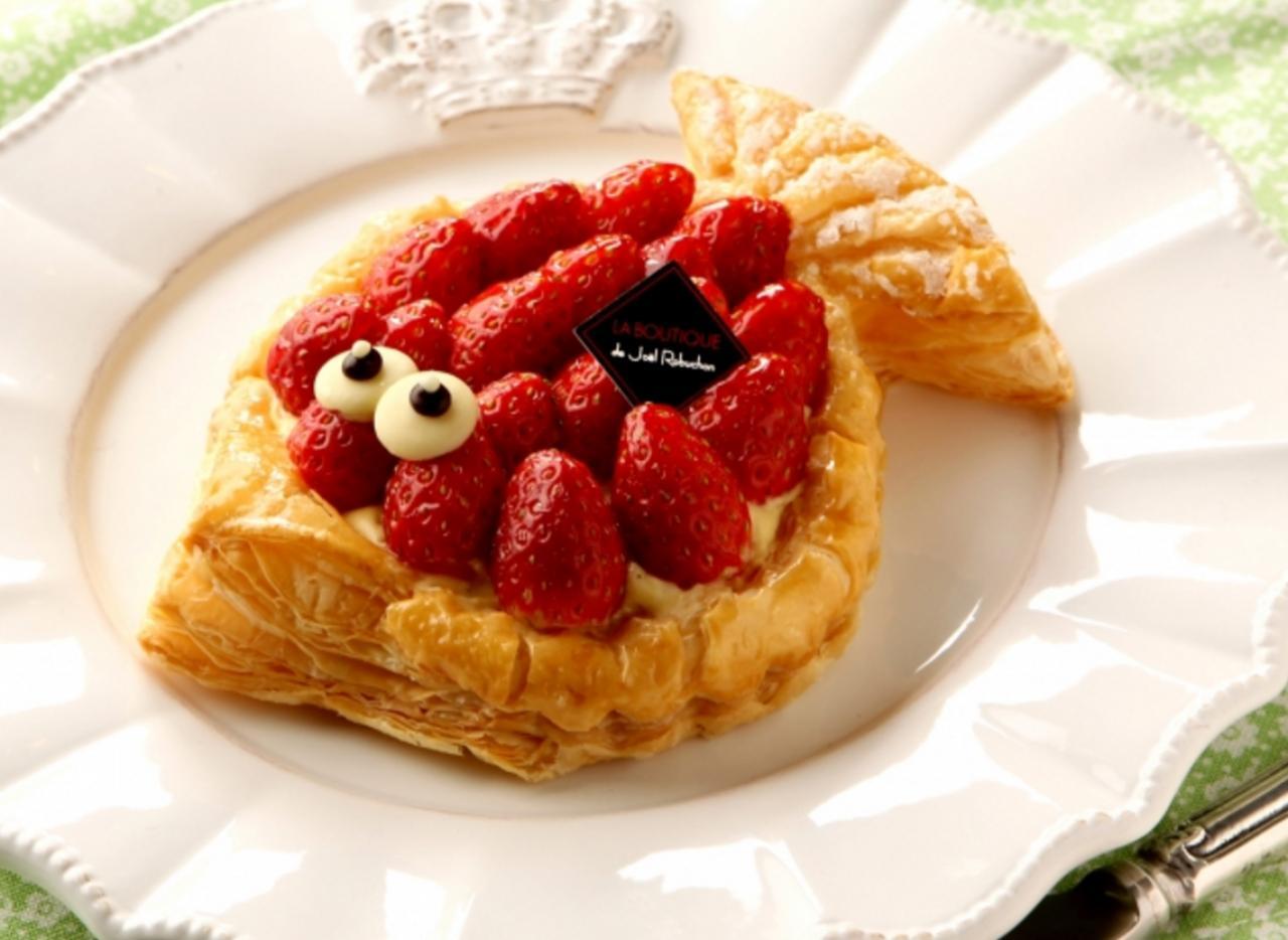 画像: 「ポワソン ダブリル フレーズ~苺のパイ~」新発売