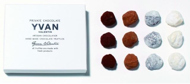 画像: ハリウッドセレブにも愛される高級チョコレート アメリカ「イヴァン・ヴァレンティン」イヴァン トリュフ(12個入り)6,687円