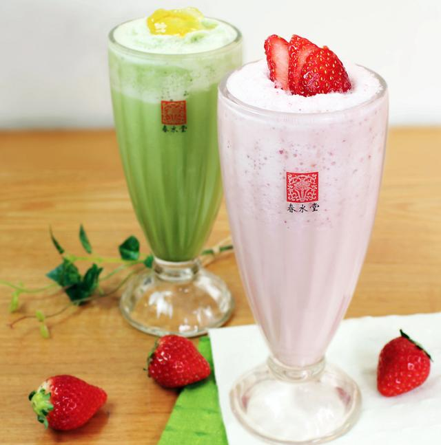 画像: 『フレッシュストロベリーティースムージー』『柚子抹茶スムージー』が3月15日新発売