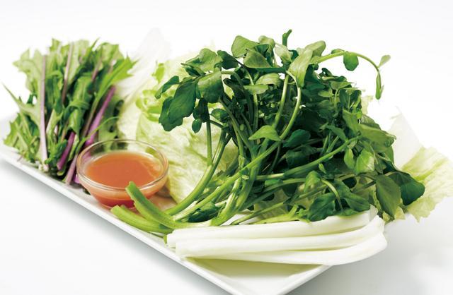 画像: 新緑野菜盛り