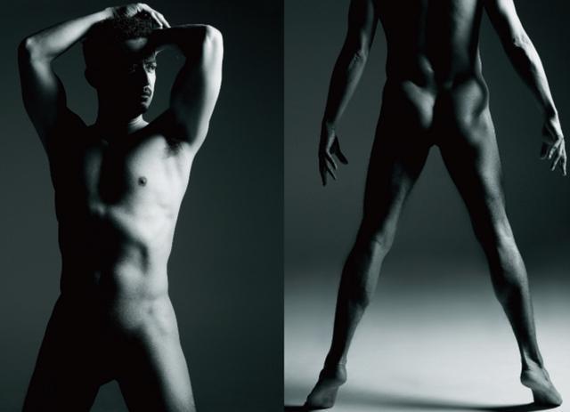 画像: レスリー・キー撮影による俳優・池内博之の肉体美