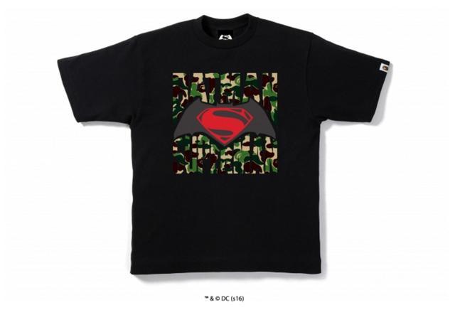 画像2: 映画「バットマン vs スーパーマン ジャスティスの誕生」とのコラボレーションTシャツが限定発売