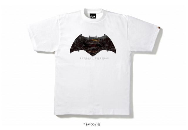 画像5: 映画「バットマン vs スーパーマン ジャスティスの誕生」とのコラボレーションTシャツが限定発売