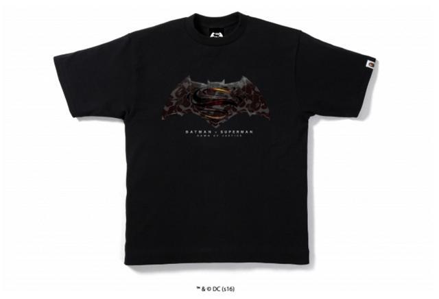 画像4: 映画「バットマン vs スーパーマン ジャスティスの誕生」とのコラボレーションTシャツが限定発売