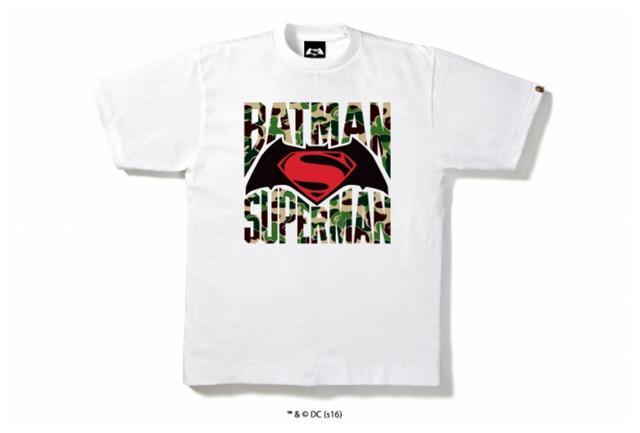 画像3: 映画「バットマン vs スーパーマン ジャスティスの誕生」とのコラボレーションTシャツが限定発売