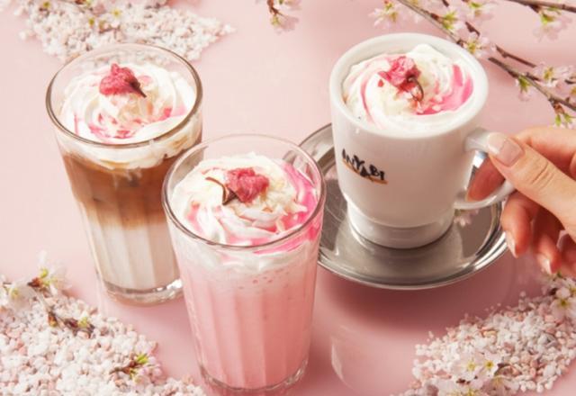 画像: 春限定の桜薫る「桜苺フローズン」「桜らて」を期間限定販売