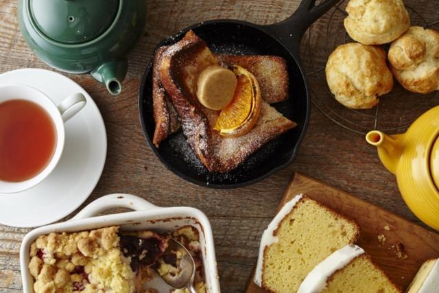 """画像: """"BAKE MY DAY(ベイクマイデイ)""""がコンセプトの新しい空間で紅茶、ベイクドスイーツ、オーブン料理はいかが?"""