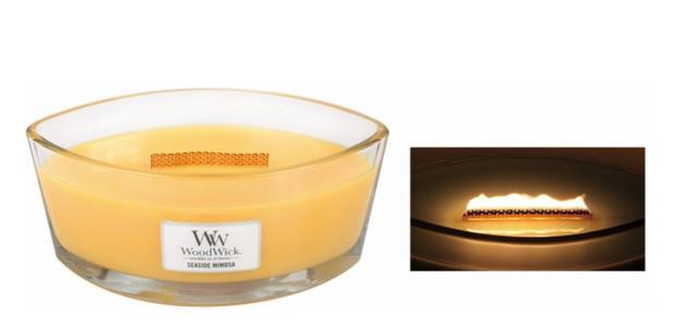 画像: 商品名:ハースウィックL 価格:5,000円(税抜) 燃焼時間:約40時間 特徴:暖炉を意味するハース。心地良い音はそのままに、暖炉で揺らめく炎を眺めているときの心地よさも再現!