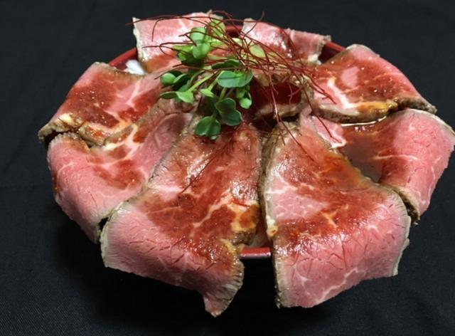 画像: 【長崎】 『長崎和牛ローストビーフ』/BBQTERRACE 煌 日本一の長崎和牛を使い秘伝のたれで 食べるローストビーフ
