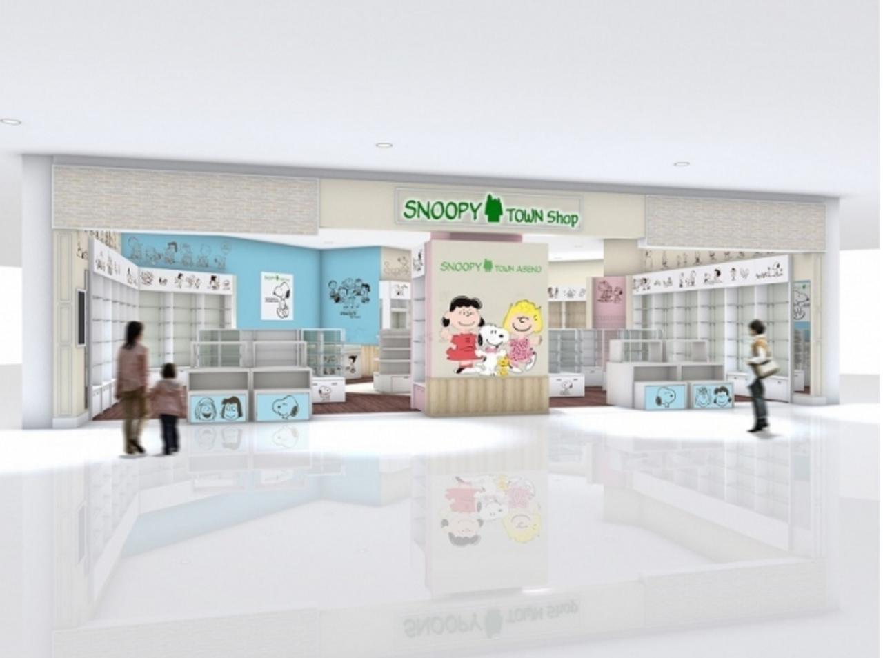 画像: スヌーピタウンショップがあべのキューズモール店にオープン!