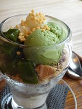 画像: 【茶cafe竹若の抹茶のパフェ】 880円