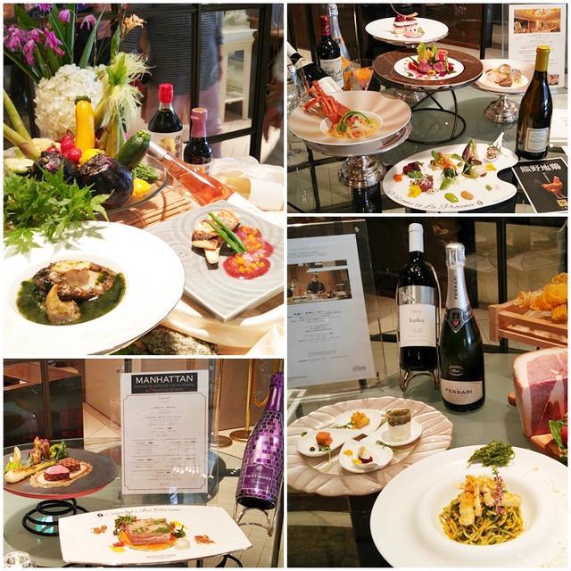 画像8: さっそく伊勢志摩の食の魅力あふれるブッフェ台へ♪