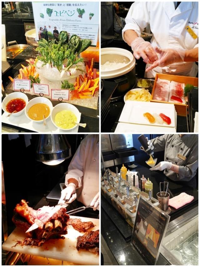 画像3: さっそく伊勢志摩の食の魅力あふれるブッフェ台へ♪