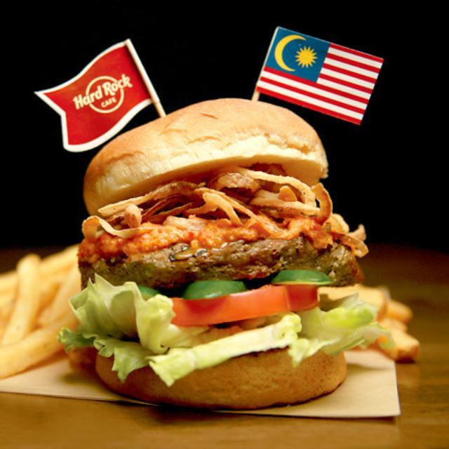 画像: ハードロックカフェ大阪で「ペルチック・バーガー」を食べてマレーシアへ行こう!!  |  Hard Rock Cafe Japan – ハードロックカフェ・ジャパン
