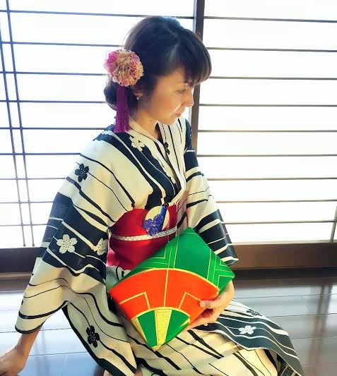 画像: 西陣クラッチ ¥28,000(税抜)