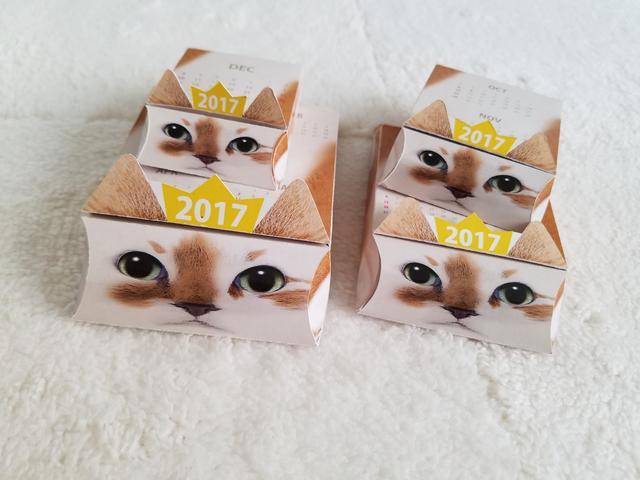 画像3: 日本初!まるでマトリョーシカ?? 箱の中から次々と猫が出てくる 2017年仕様『ネコリョーシカカレンダー』