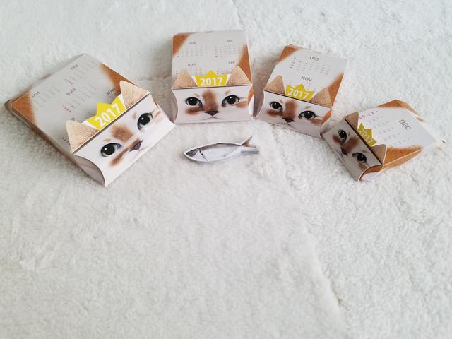 画像2: 日本初!まるでマトリョーシカ?? 箱の中から次々と猫が出てくる 2017年仕様『ネコリョーシカカレンダー』